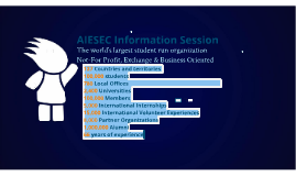 AIESEC Purdue Info-session - Fall 2014
