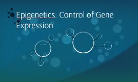 Epigenetics: Control of Gene Expression