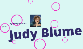 Copy of Judy Blume