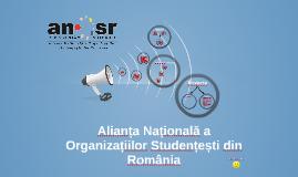 Alianța Națională a Organizațiilor Studențești din România