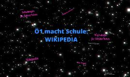 Ö1 macht Schule – Zehn Jahre Wikipedia