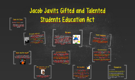 Copy of Jacob Javits Gifted and Talented