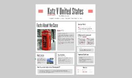 Katz V United States