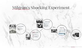 Milgram's Shocking Experiment