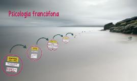 Psicología francófona