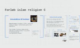 2017 Islam religion C