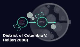 District of columbia V. Heller(2008)