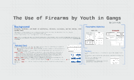 The use of Firearms by Youth in Gangs