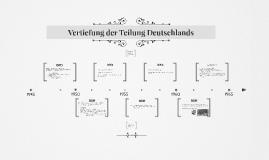 Vertiefung der Teilung Deutschlands