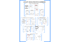 CA CH5: CIRCUIT ANALYSIS IN S-DOMAIN