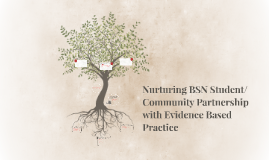 Nurturing BSN Student/Community Partnership with Evidence Ba