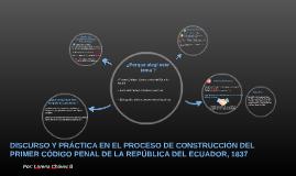 DISCURSO Y PRÁCTICA EN EL PROCESO DE CONSTRUCCIÓN DEL PRIMER
