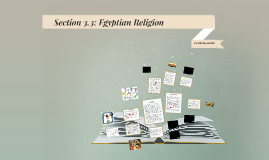 Section 3.3: Egyptian Religion