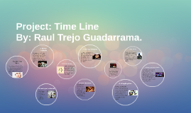 Project: Time line