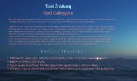 Wiosna ludów na ziemiach polskich - tekst źródłowy