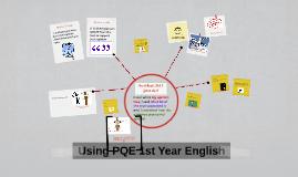 Copy of Using PQE 1st Year English