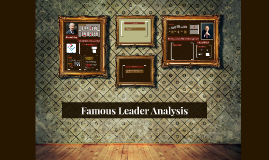 Famous Leader Analysis