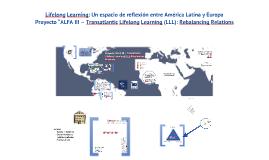 Lifelong Learning: Un espacio de reflexión entre América Latina y Europa
