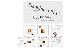 Copy of Planning a PLC - Glenwood