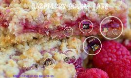 Darcy's Raspberry Crumb Bars