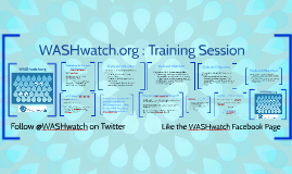 WASHwatch.org Trainers Guide