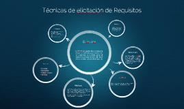 Técnicas de elicitación de Requisitos