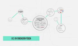 LIC. EN EDUCACIÓN FÍSICA