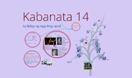 Copy of Copy of Kabanata 14