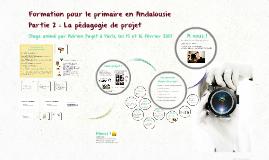 Atelier Primaire Andalousie - Partie 2 la pédagogie de projet