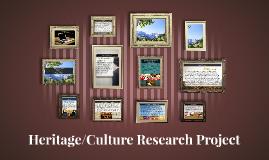 Heritage/Culture