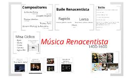 AM1: Musica Renacentista