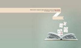 Elaboración de manuales de capacitación para los puestos de