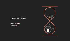 Copy of Líneas del tiempo