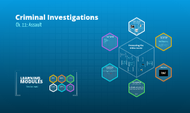 Criminal Investigations 11 of 15