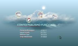 FINAL CONTEXTUALISMO FUNCIONAL