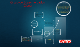 Copy of Copy of Grupo de Supermercados Wong