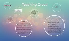 Teaching Creed