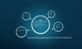 Decentralisatieplannen kabinet Rutte-II