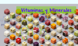 Copy of Vitaminas y Minerales