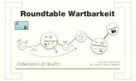 Copy of Roundtable Wartbarkeit