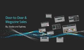 Door-to-Door & Magazine Sales