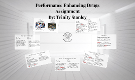 Performance Enhancing Drugs Assignment