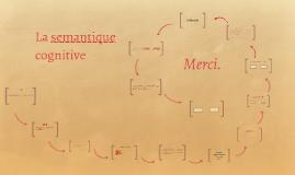 La semantique cognitive