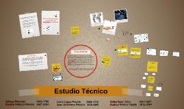 Copy of Estudio Técnico - Formulación y Evaluación de Proyectos