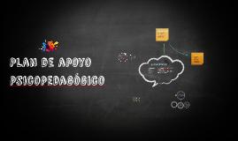 Copy of Copy of Plan de intervención psicopegagógico