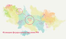 Функции федеральных органов власти РФ