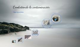 Combatiendo la Contaminación en  las playas
