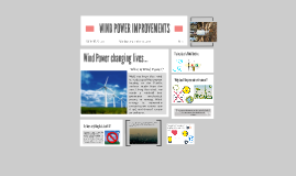 WIND POWER IMPROVEMENTS