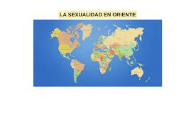 Oriente está formado por muchos países muy diferentes cultur