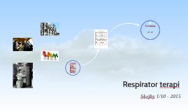 Respiratorterapi
